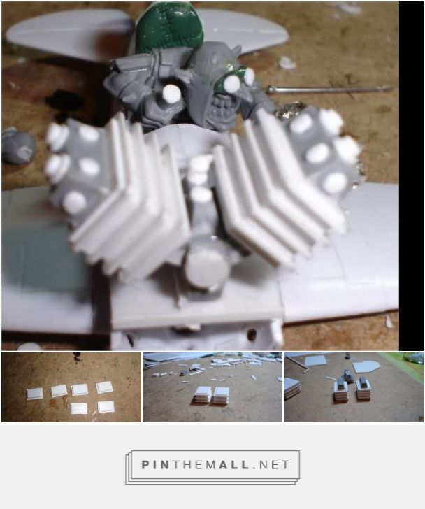 Scratchbuilding Engines 101 - MEK'S GARAGE - Da WAAAGH... - a grouped images picture - Pin Them All