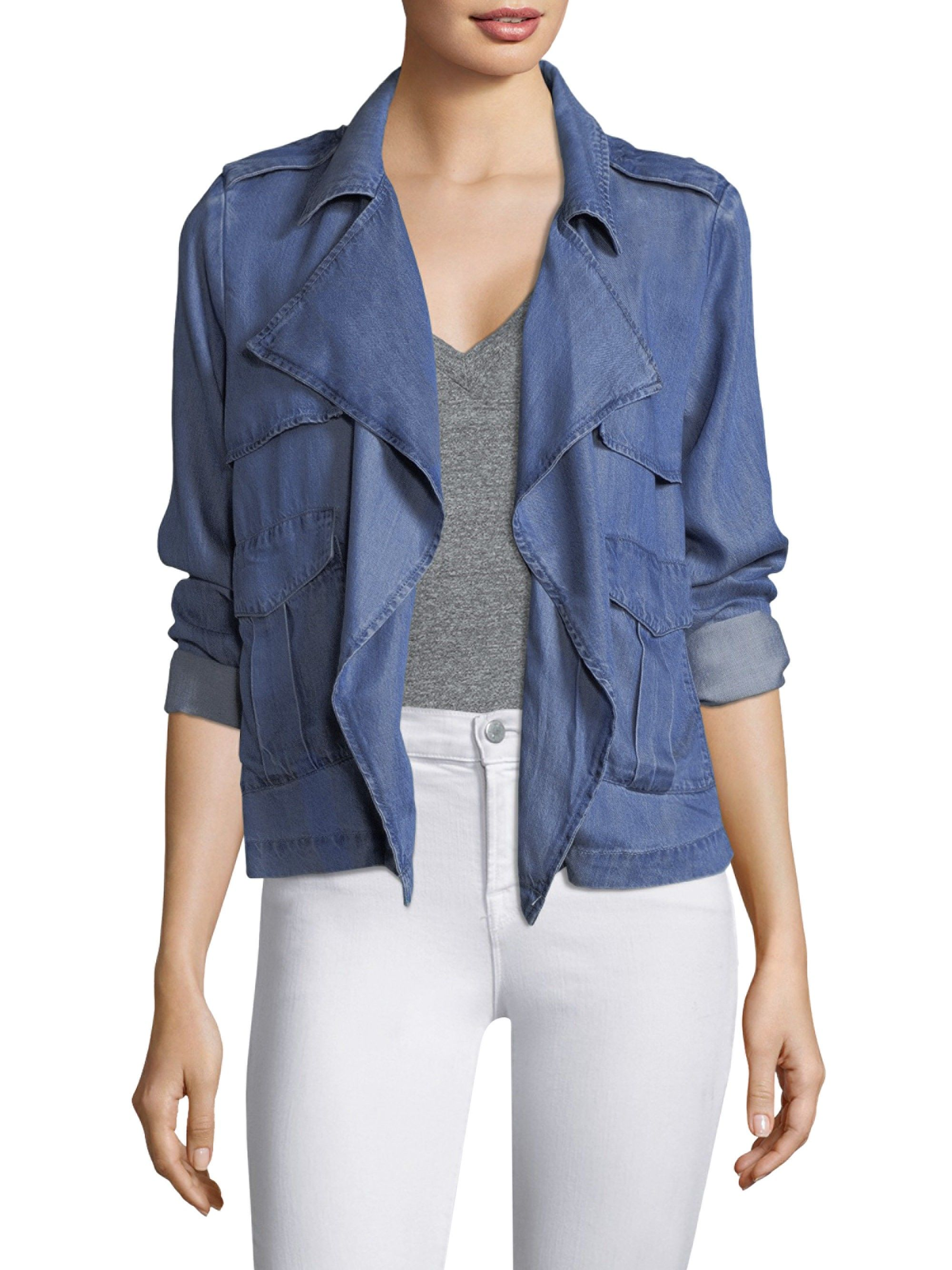 official great fit preview of Soft Denim Jacket by Splendid | Jackets, Clothes for women ...