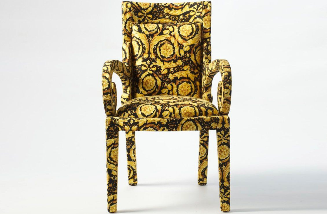 Vanitas special edition dining chair versace home australia