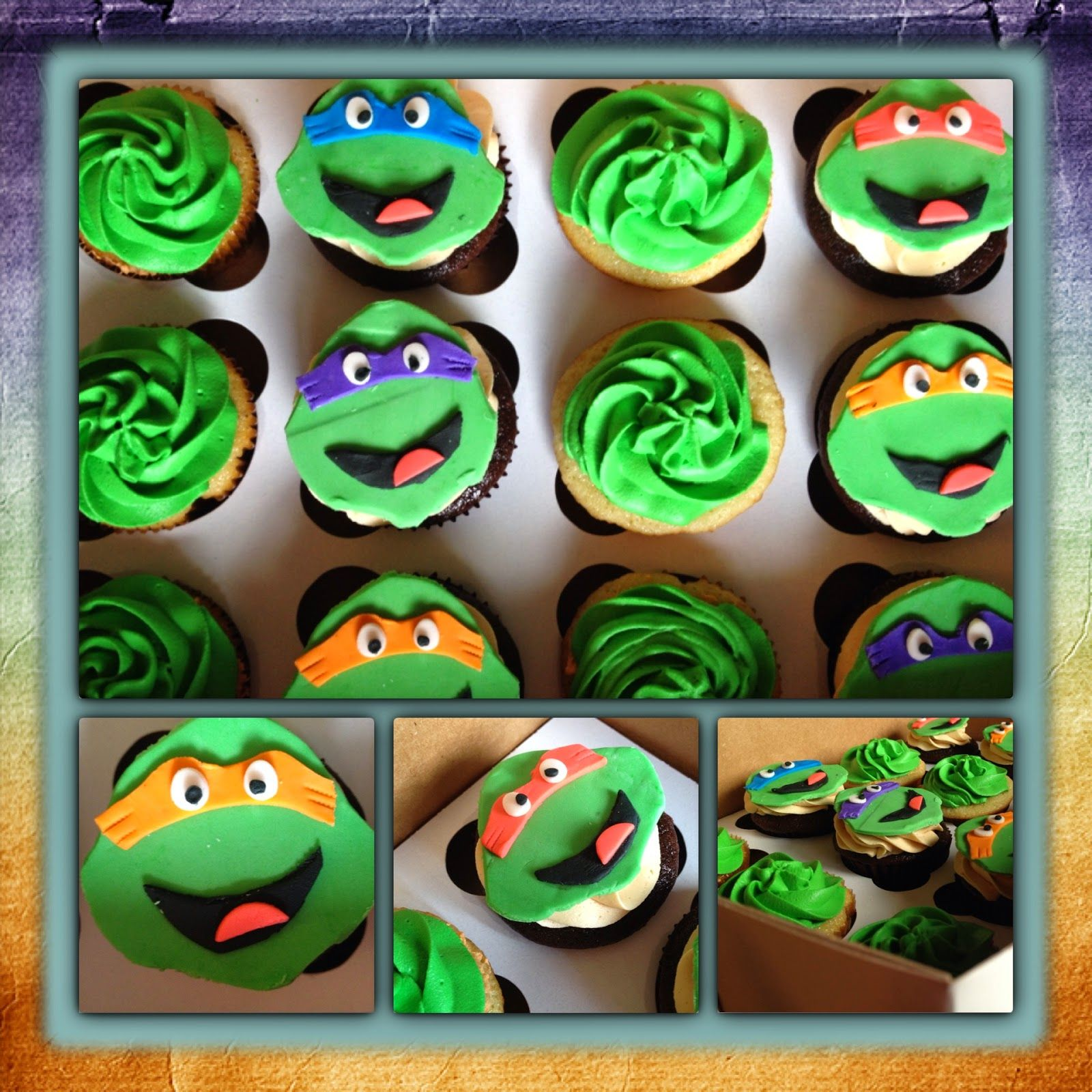 Turtle Cupcakes 2 Nuggets Bakery