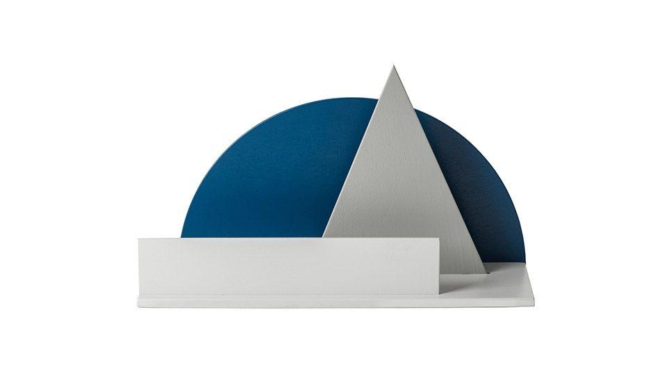 MONOQI | Schreibtisch-Ablage - Blau