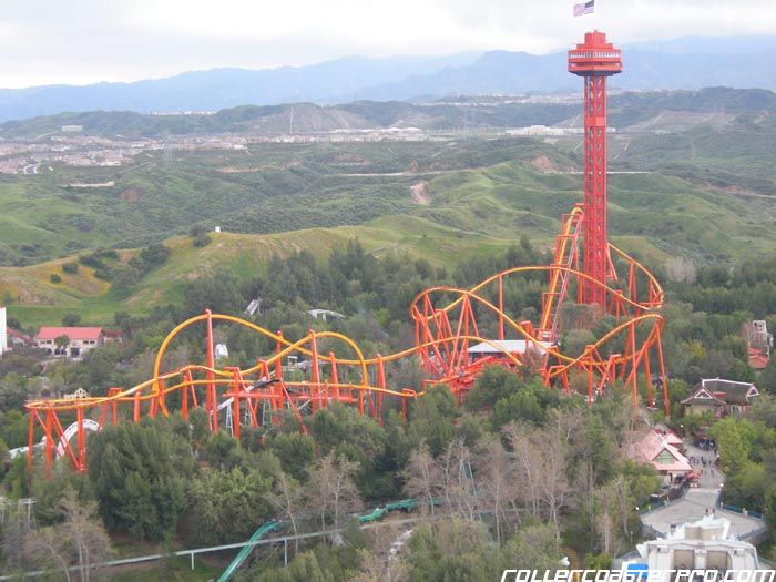 Six Flags Magic Mountain Best Roller Coasters Roller Coaster Boat Trips