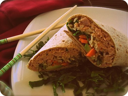 great wrap ideas on this website. spicy-tuna-wrap