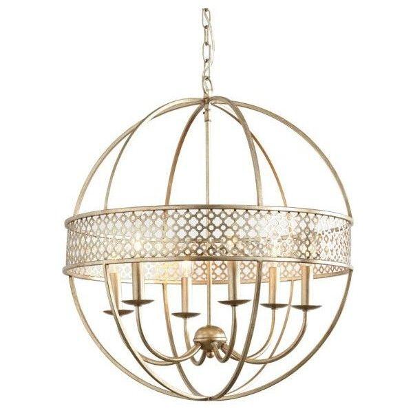 Ballard Designs Marais 6 Light Orb Chandelier 7 405 Zar Liked On