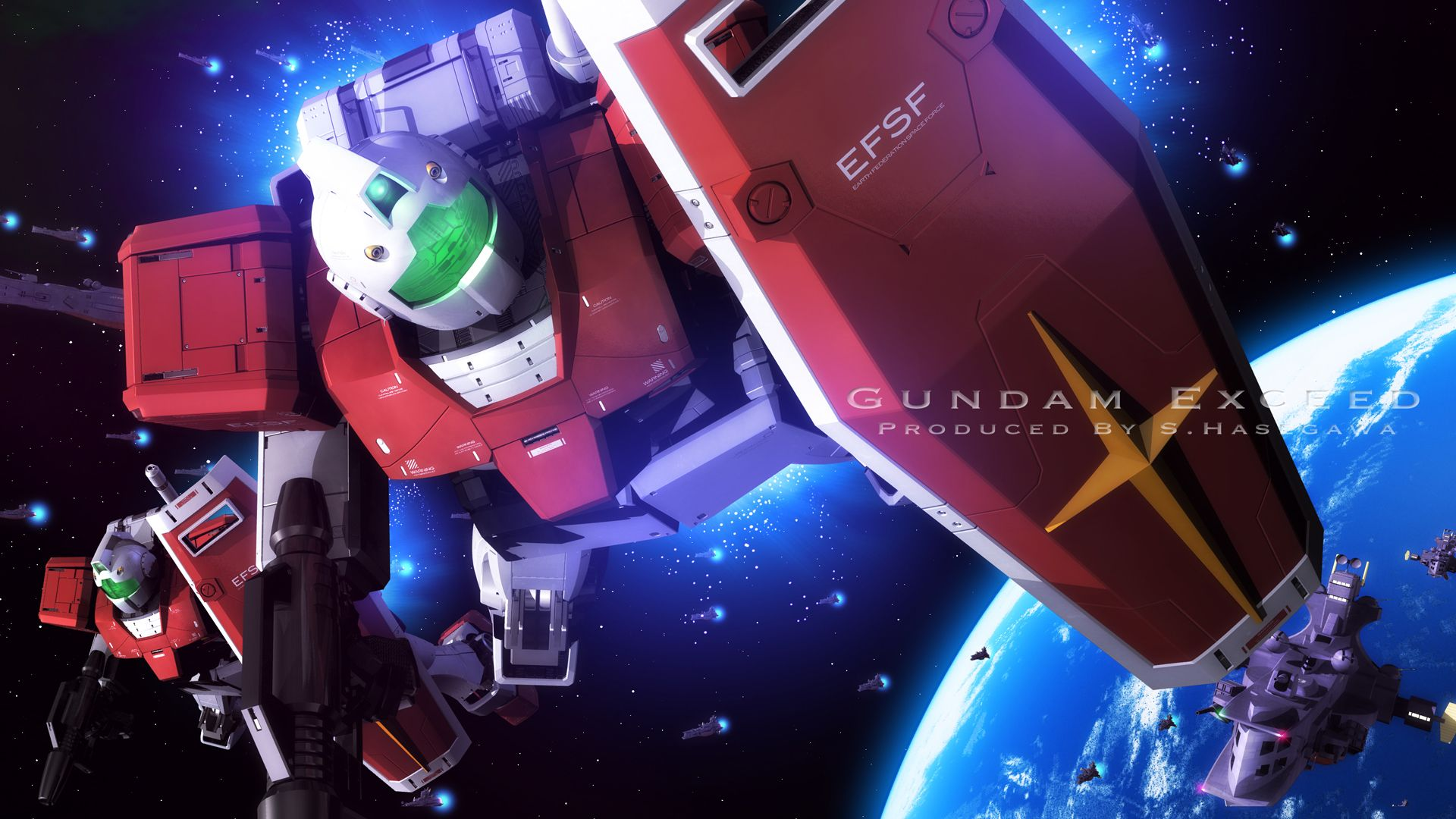 Pin By Seungh Lim On Rgm79 Eff S Ms Series Gundam Digital Artwork Gundam Art