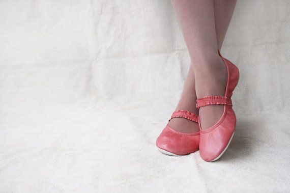 On cloud nine  Handmade Leather Ballet flats  by TheDrifterLeather, $95.00