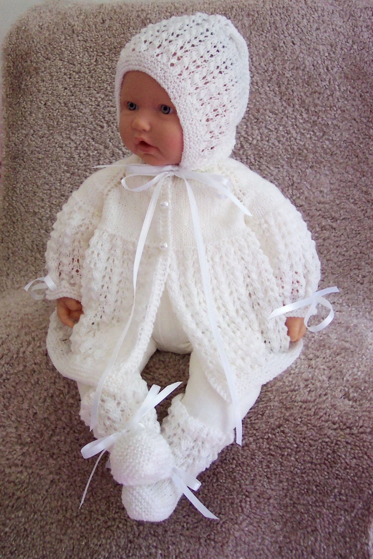 Beautiful Hand Knitted Baby Hat
