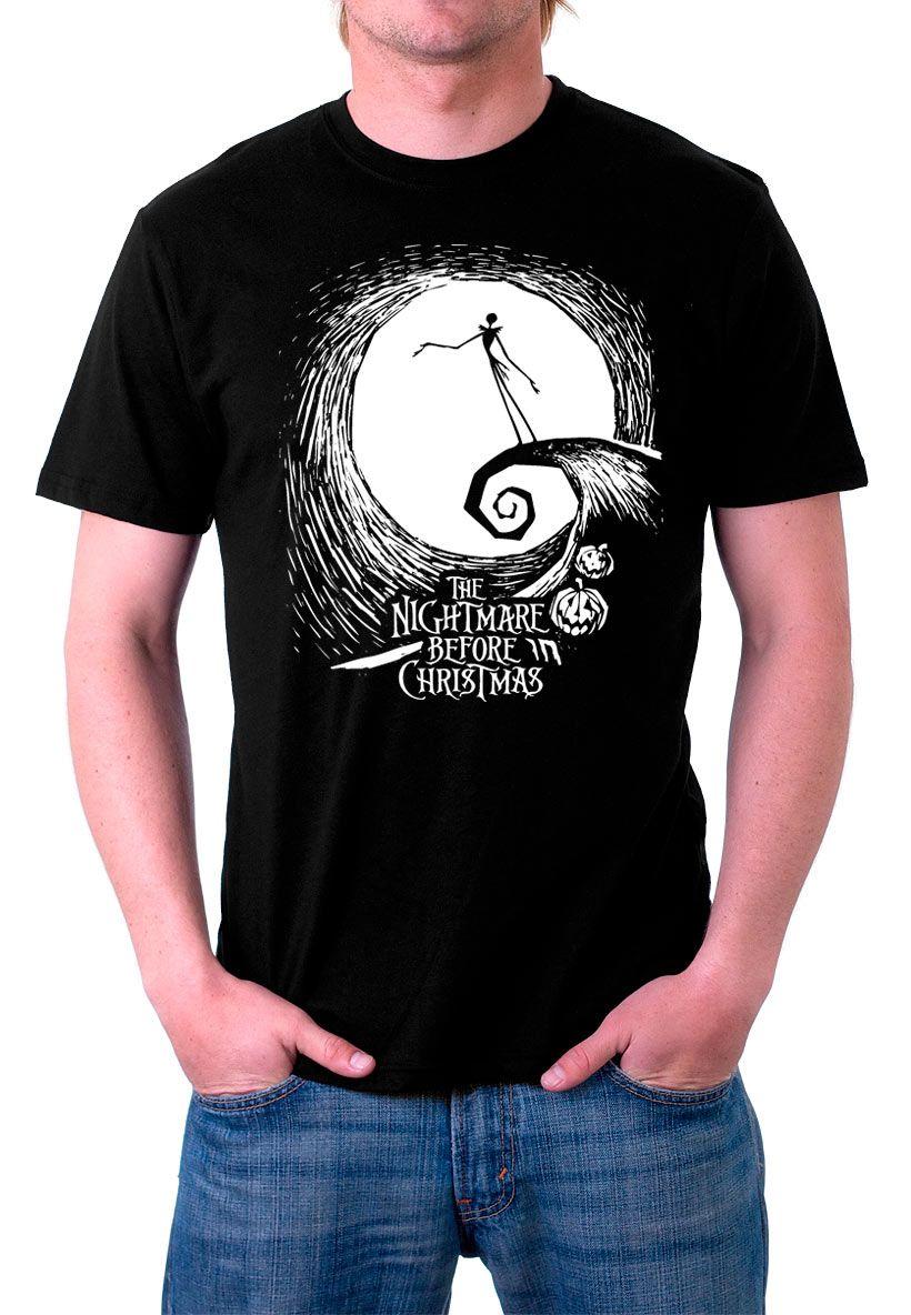 The Fan Tee Camiseta de Pesadilla Antes de Navidad Jack Hombre yamcUO