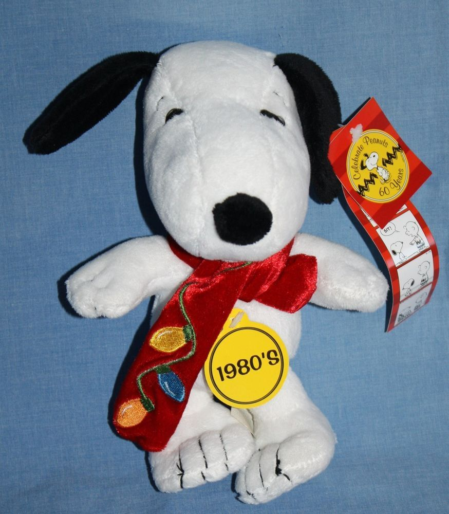 Peanuts Snoopy Dog plush 1980 2009 CVS stuffed soft toy 8\