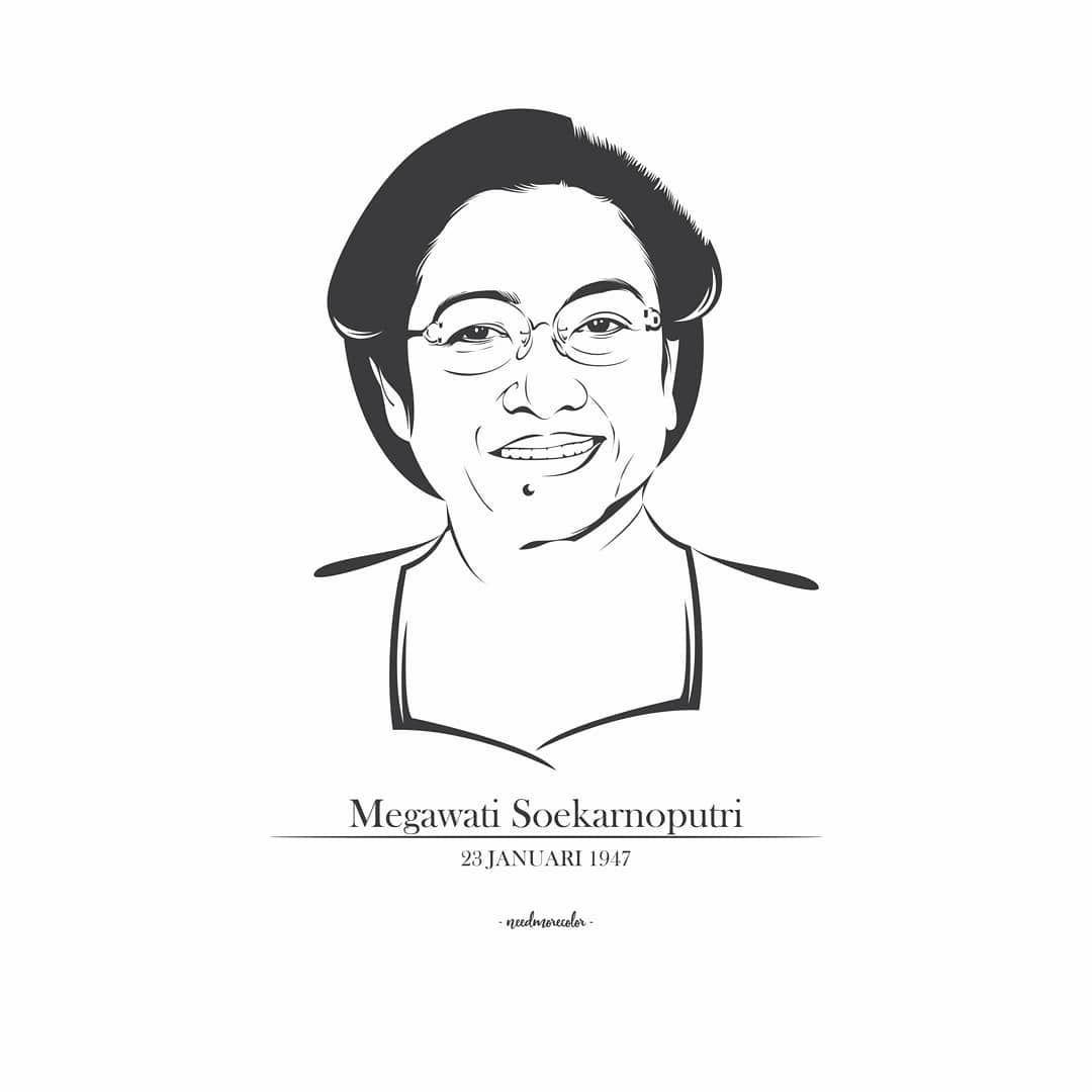 Gambar Pahlawan Ibu Fatmawati