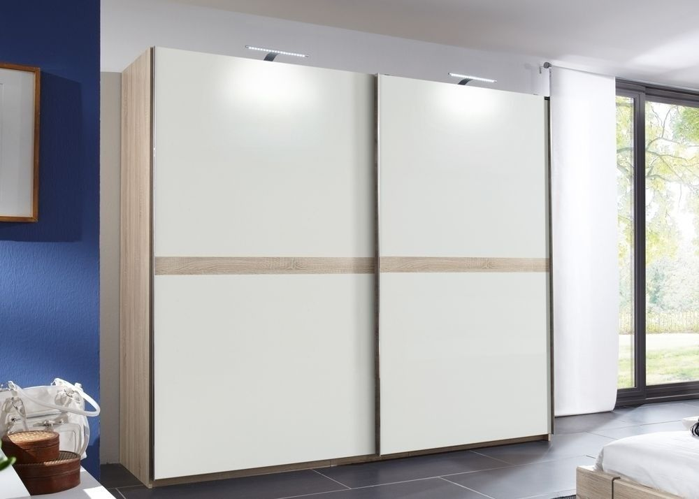 Schwebetürenschrank Add On E Weiß Eiche 7093 Buy now at https - m bel hardeck schlafzimmer
