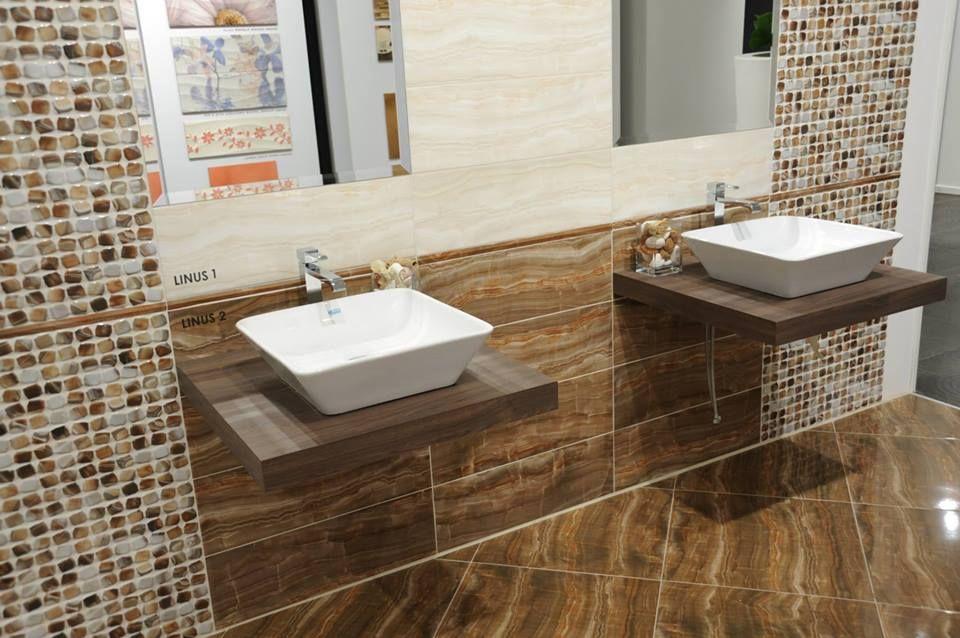 السيراميك والبورسلين Vanity Bathroom Vanity Sink