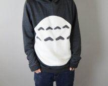 Unisex con capucha de Totoro