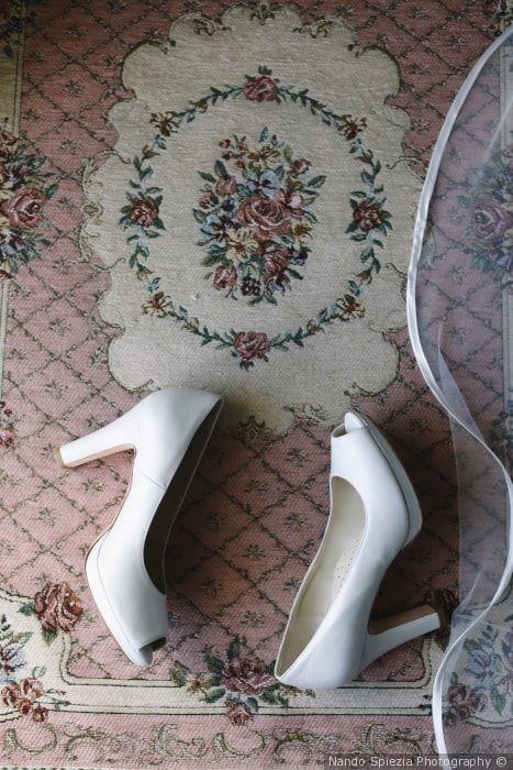 Quali scarpe da sposa col tacco indossare sotto l'abito ...