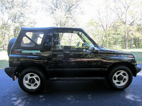 2003 Geo Tracker For Sale No Reserve 1995 Chevrolet Geo Tracker With 4x4 And Very Low Miles On Chevrolet Dream Cars Geo