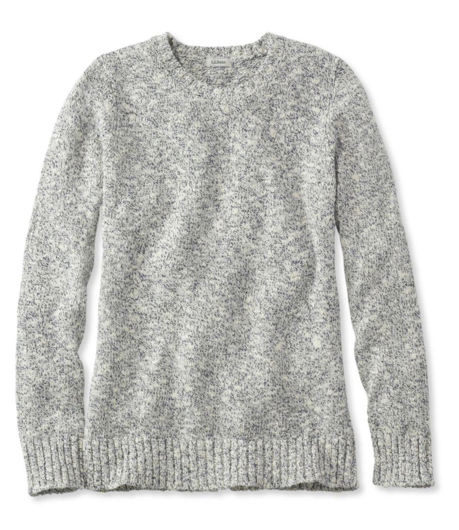 Cotton Ragg Sweater, Marled- size medium/ Natural   Wish List ...