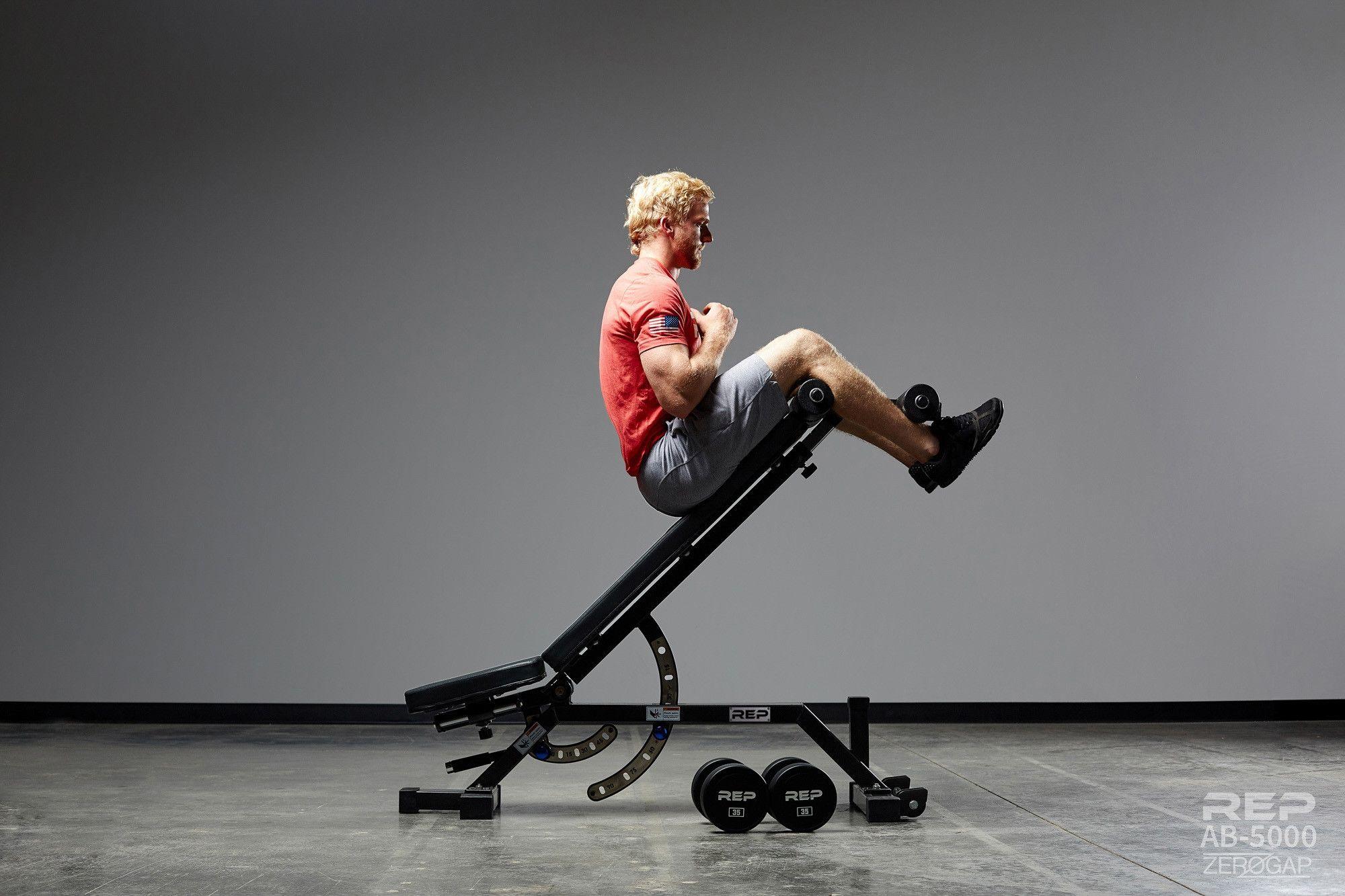 Ab 5000 Zero Gap Adjustable Bench Weight Benches Gym No Equipment Workout