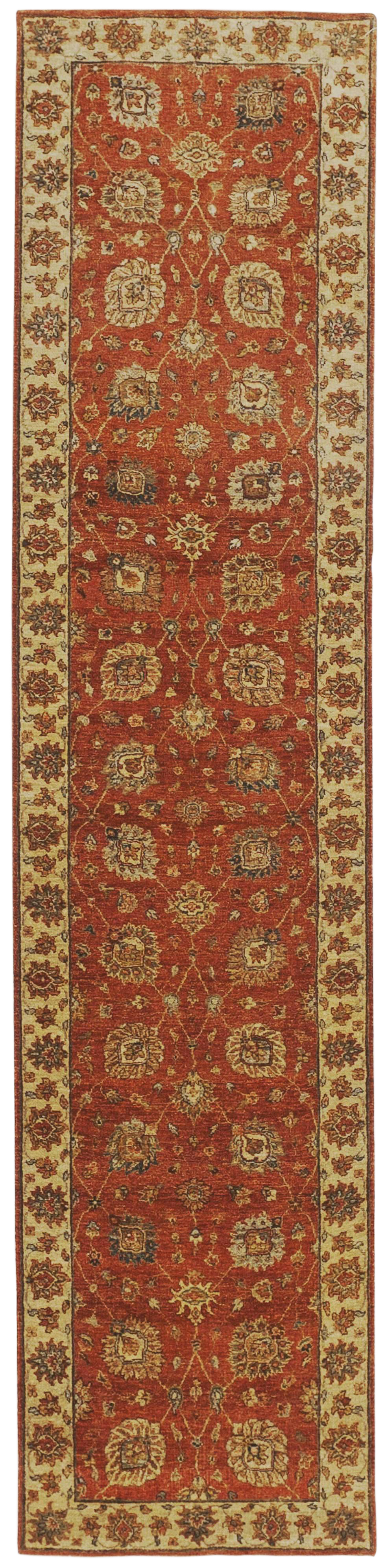 Hand Knotted Indian Runner 2 8 X 11