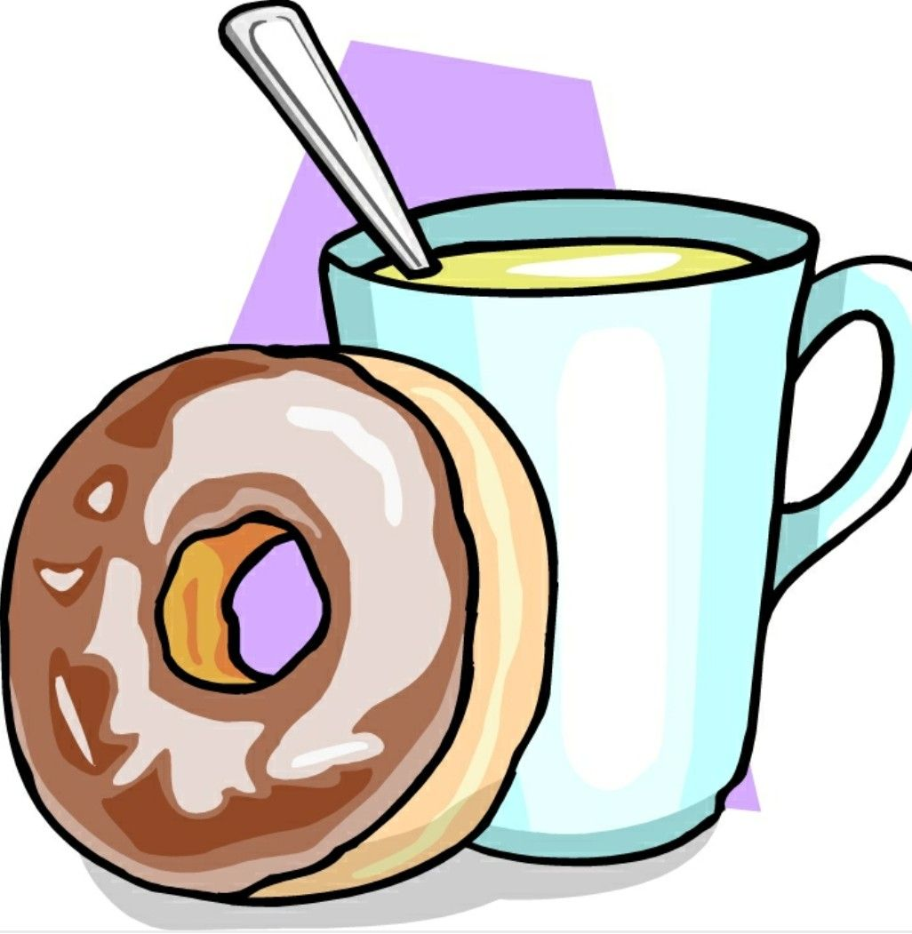 Image result for coffee and donuts clipart image