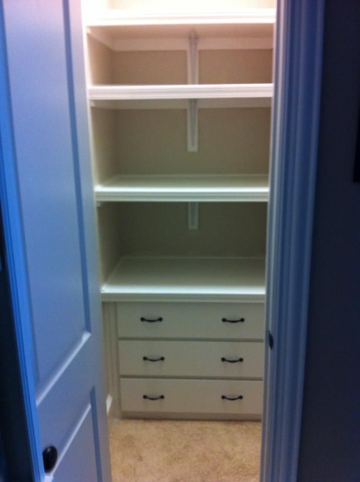 Ikea Hackers Malm Closet Drawers