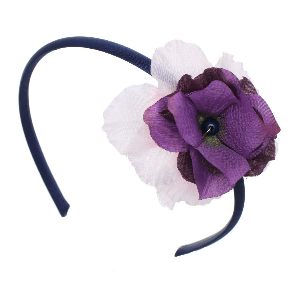 Purple Flower Headband Products Flower Headbands And Purple
