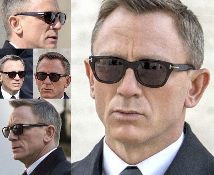 007 Tf Tom Sunglasses Black Bond Ford New Spectre Snowdon James 237 HI2WED9Y