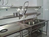 Trijaya Kitchen Peralatan Stainless Dapur Restoran Harga Bersaing Exhaust Hood Restaurant Sink