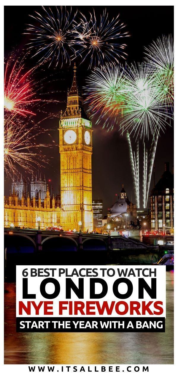 A local's guide to the best places to watch London NYE