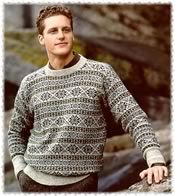 Fair Isle Sweater in Trondra pattern | Sartorial - Wish List ...