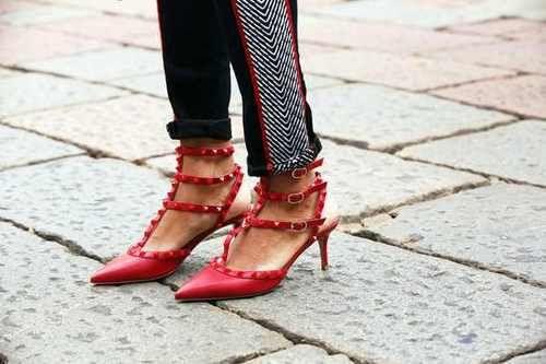 Red Valentino #netaporter #rockstud