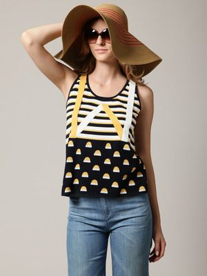The big floppy hat is a must have for summer divas!