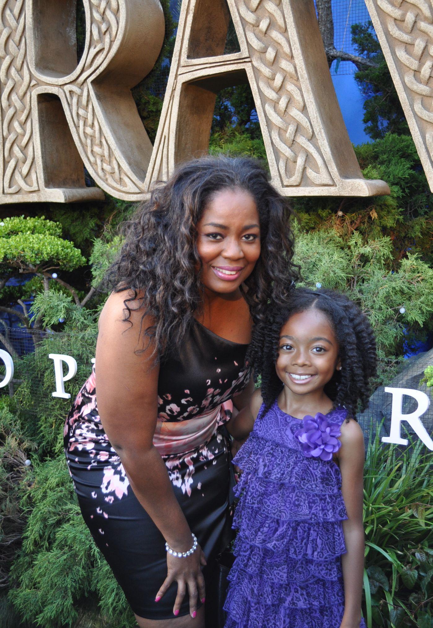 Skai Jackson Parents Green Carpet Arrivals For Disney