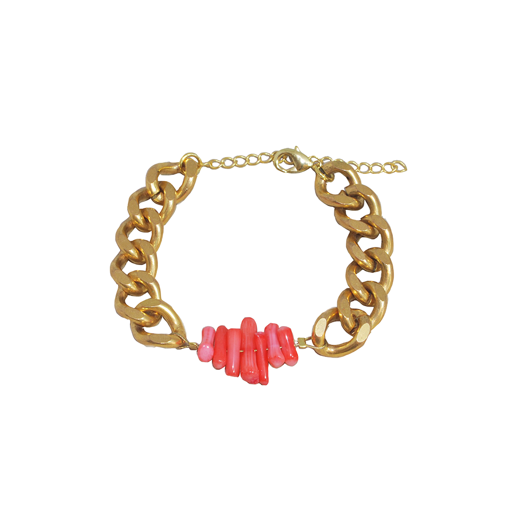 Bracelet de la collection Printemps-Eté 2014, Blue Lagoon,  par la Demoiselle du Marais #lademoiselledumarais #bijoux #createur #mode #jewels #jewellery #jewelry #designer #fashion #spring #summer #bracelet