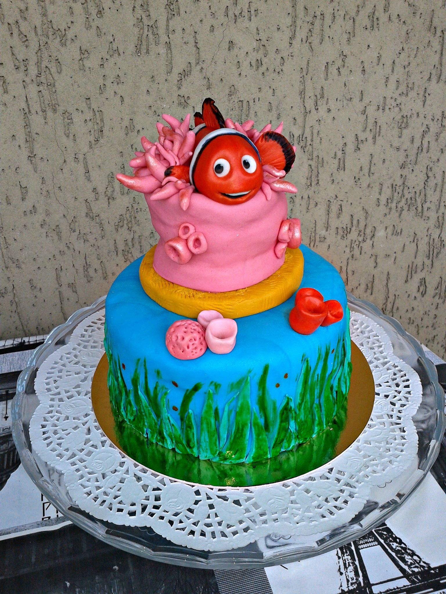 Finding nemo cake finding nemo cake cake lover nemo cake