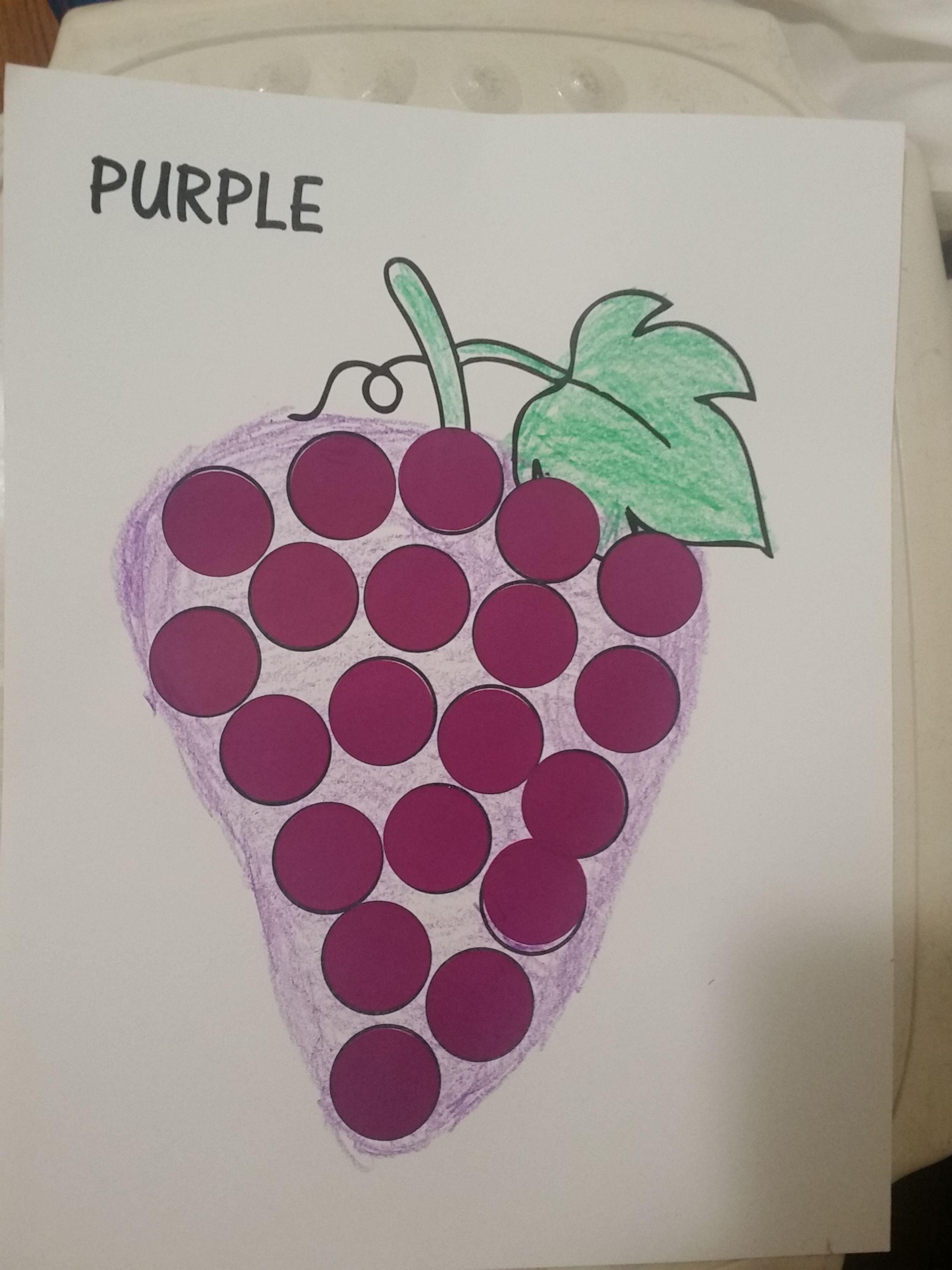 Color Purple Craft Purple G S Craft For Nursery