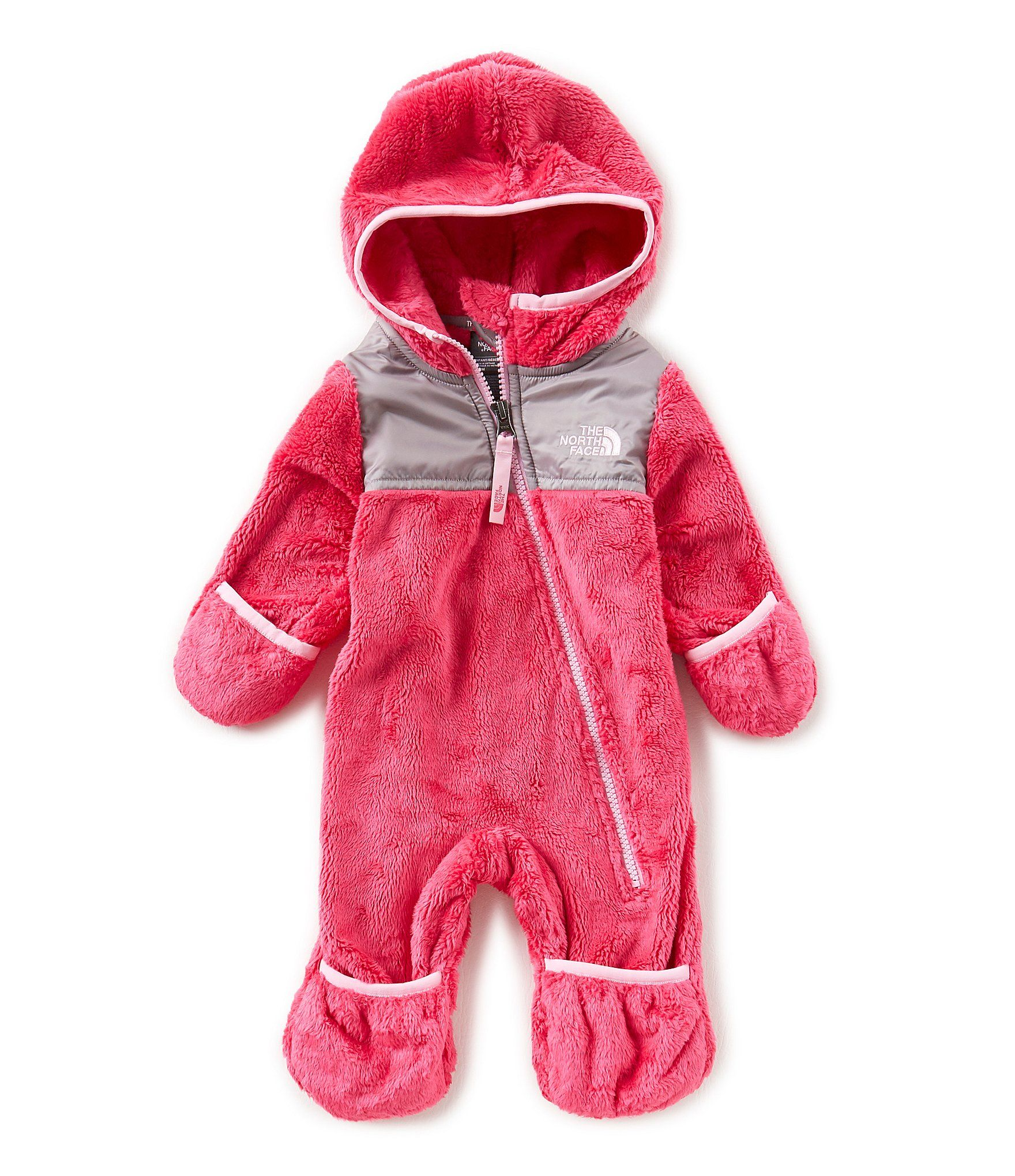 The North Face Baby Girls 324 Months Oso ePiece Hooded Coverall