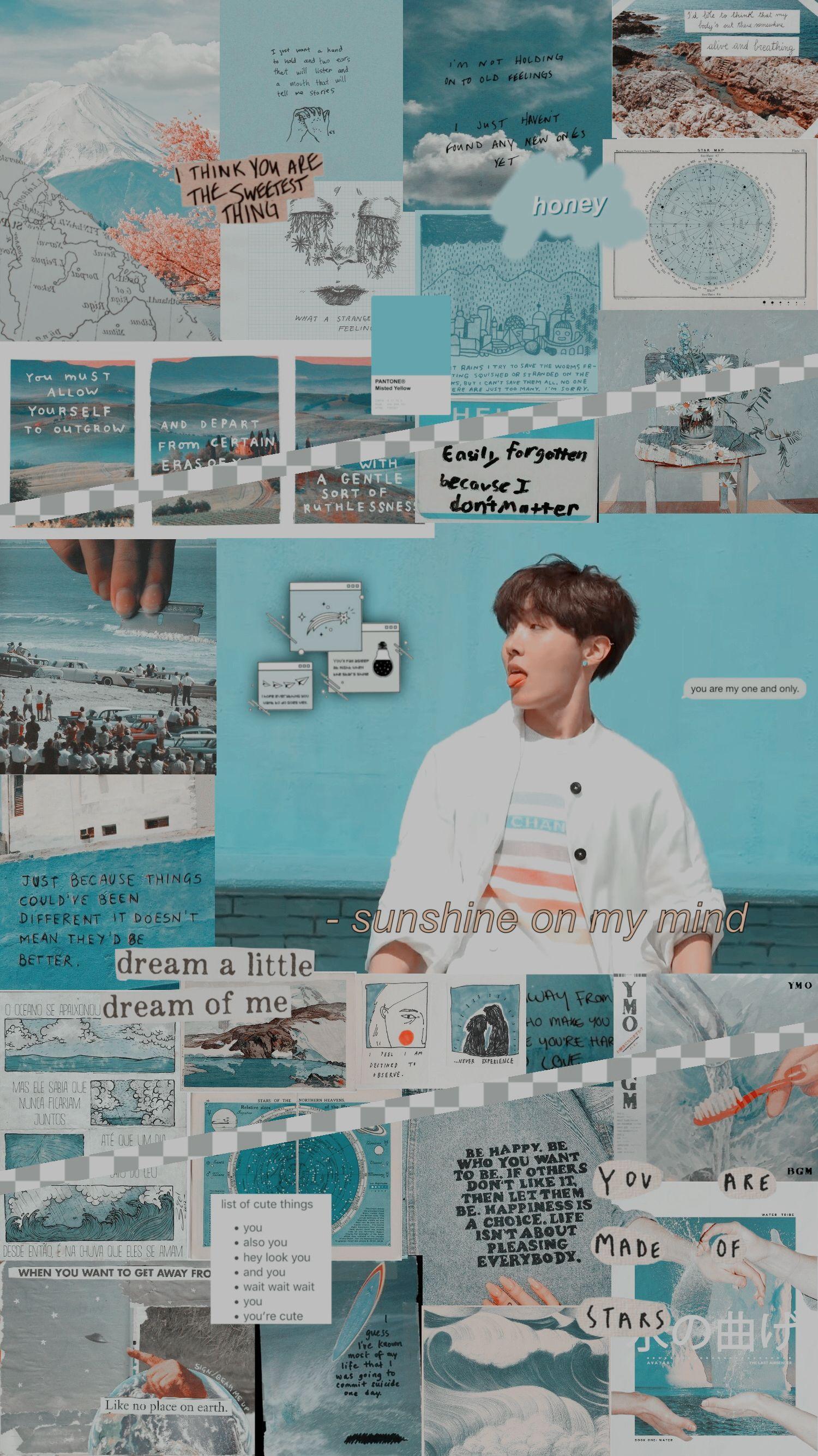 Jhope Hoseok Bts Kpop Wallpaper Lockscreen Blue Bts Hope Wallpaper J Hope Aesthetic Wallpaper Bts Aesthetic Pictures Bts aesthetic wallpaper kpop