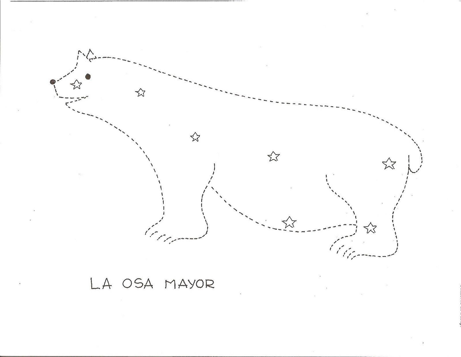 Resultado de imagen de une los puntos para didujar una constelación ...