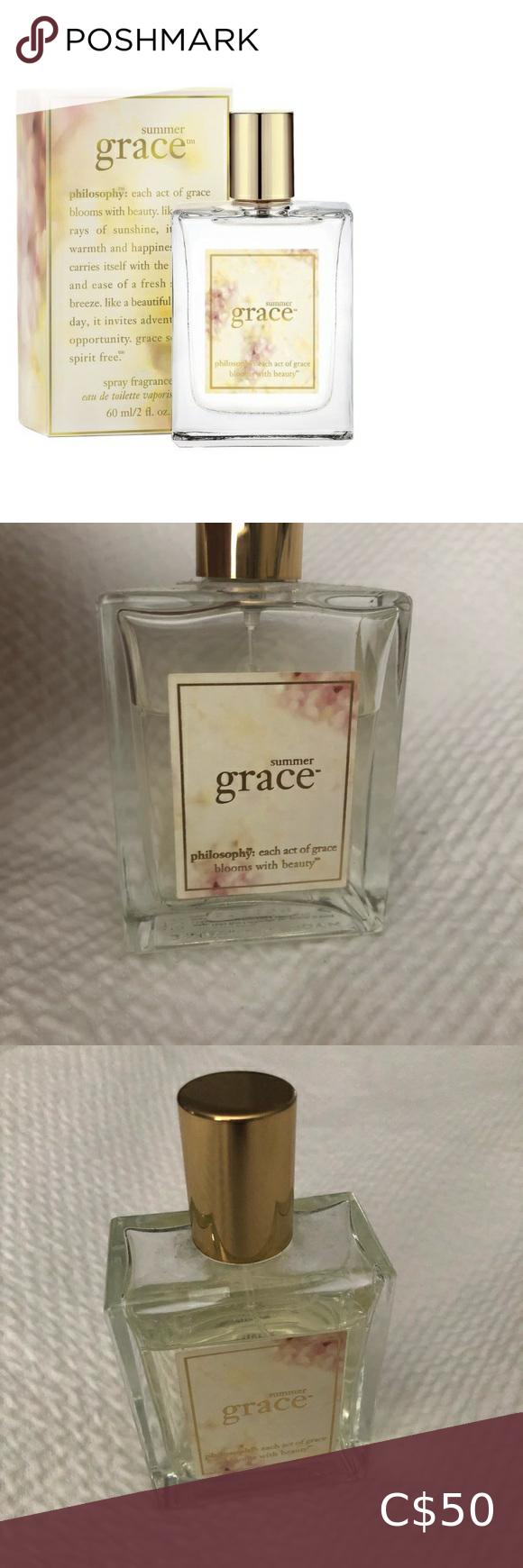 Philosophy Summer Grace Fragrance Philosophy Fresh Cream Philosophy Amazing Grace Fragrance