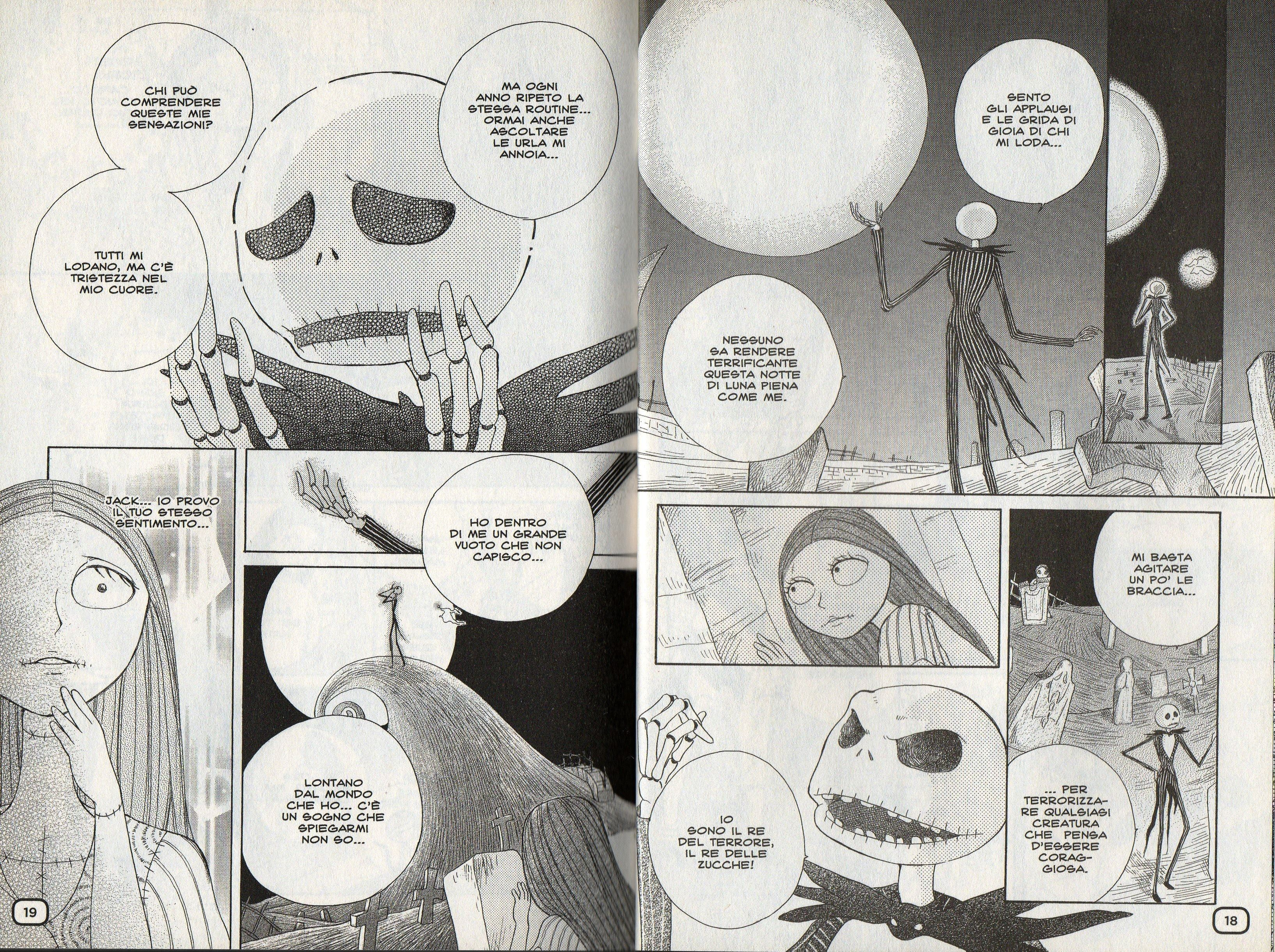 Nightmare before Christmas manga Ita_04 | Disney | Pinterest