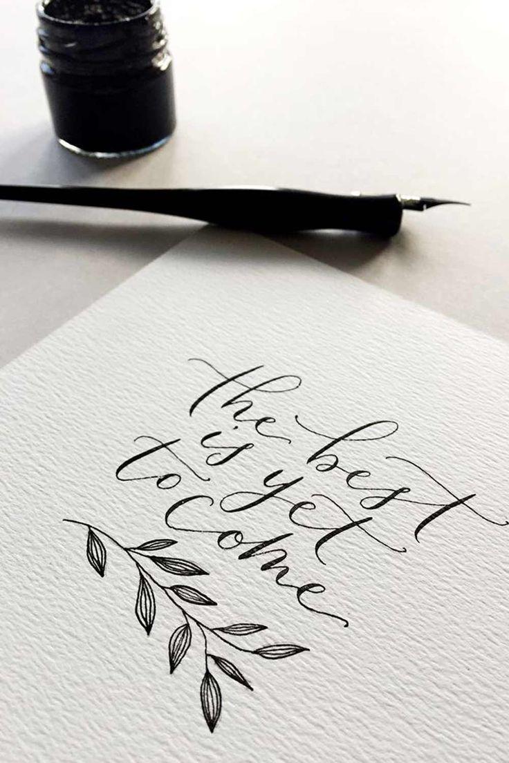 Photo of Wenn das gesamte Design Ihres Hochzeitsbriefpapiers nicht Ihr … – Calli …   …