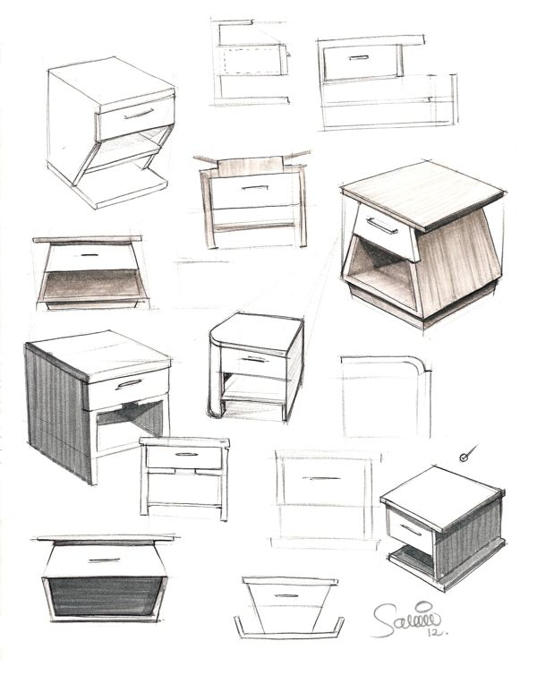 Furniture sketches on behance furniture design for Furniture design sketches