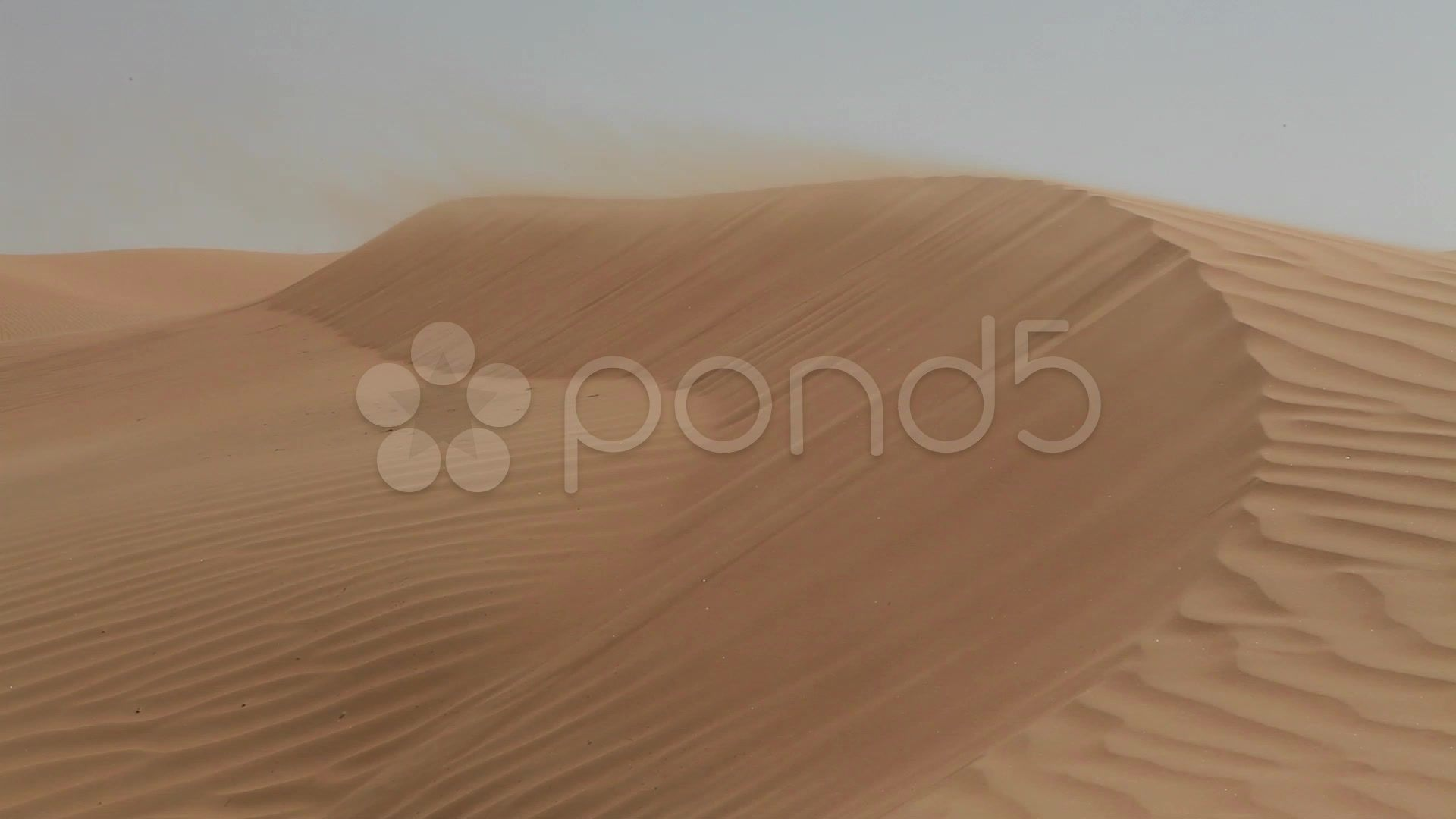 Desert sand dunes - Stock Footage | by Meilliw