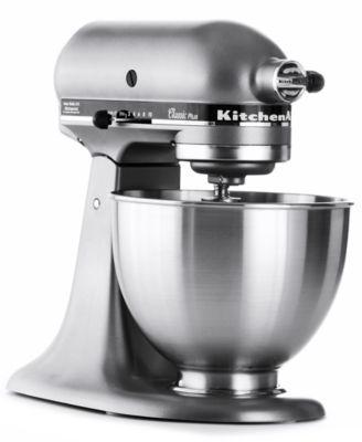 Kitchen Aid Classic Plus Roll Out Cabinet Ksm75 4 5 Qt Stand Mixer Tools Kitchenaid Ksm75sl
