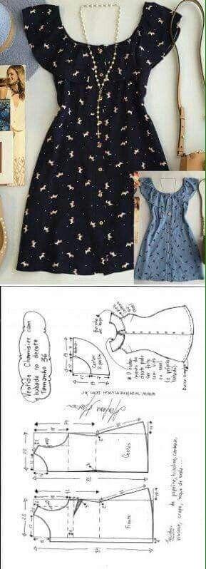 Moldes de ropa de mujer pinterest