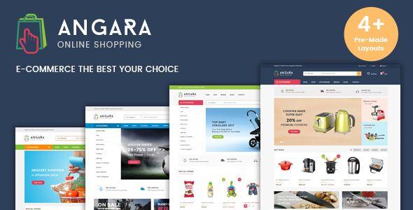 Angara - Responsive WooCommerce WordPress Theme | Pinterest