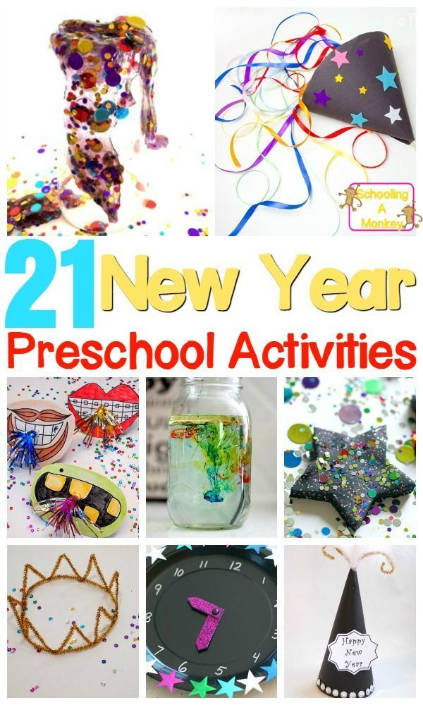 21 New Year Activities for Preschool (and older kids, too ...