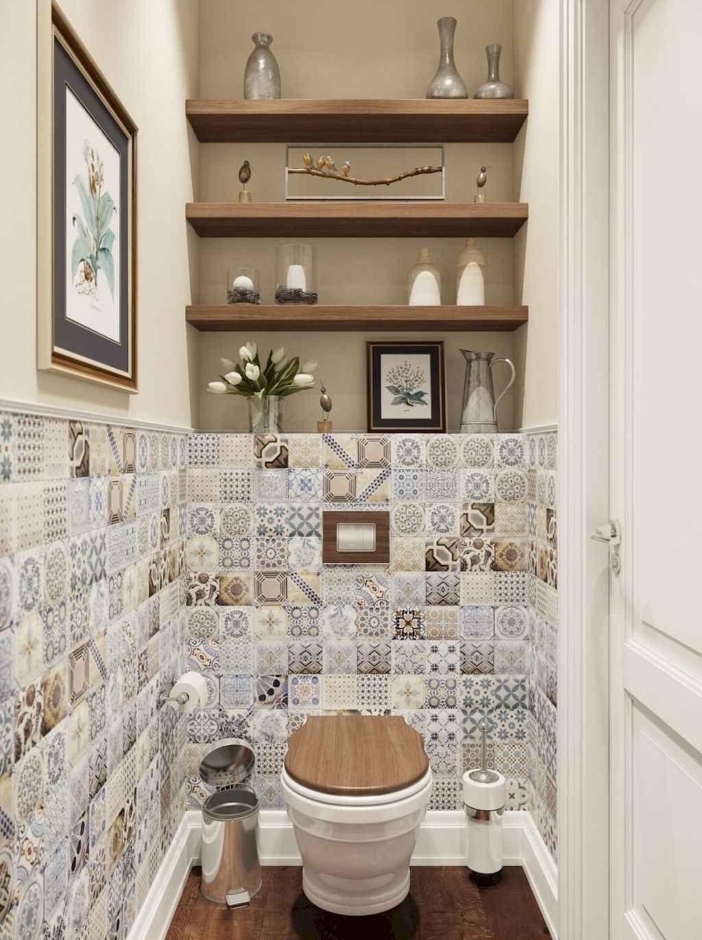 75 Rustic Farmhouse Bathroom Shelves Storage Ideas Page 64 Of 75 Chessy Decor Bathroom Wall Decor Trendy Bathroom Bathroom Interior Bathroom wall decor ideas