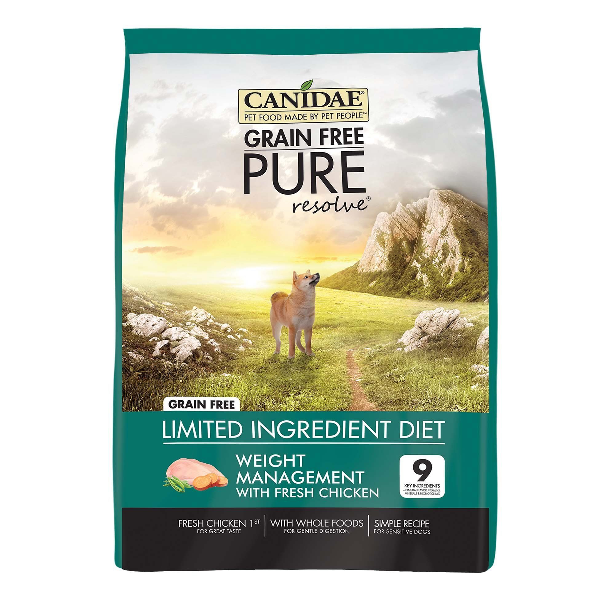Canidae Pure Grain Free Limited Ingredient Healthy Weight Real