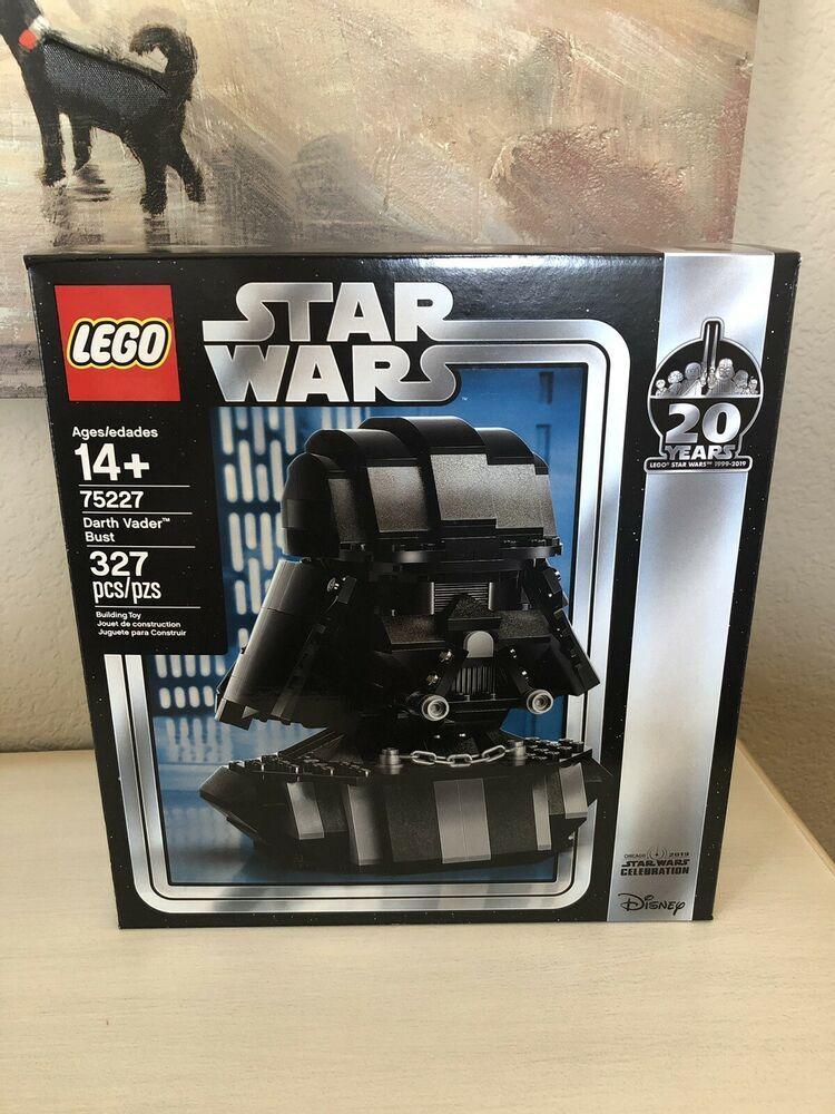 LEGO Star Wars Darth Vader Bust 75227 Helmet Target Exclusive *In Hand*